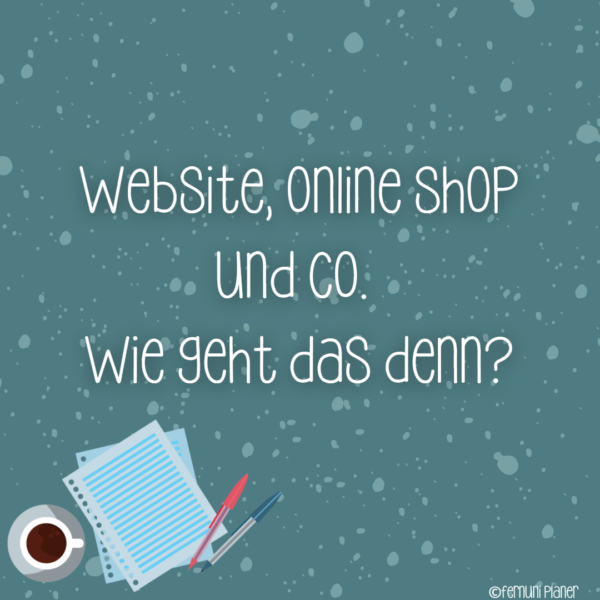 Website Online Shop und Co